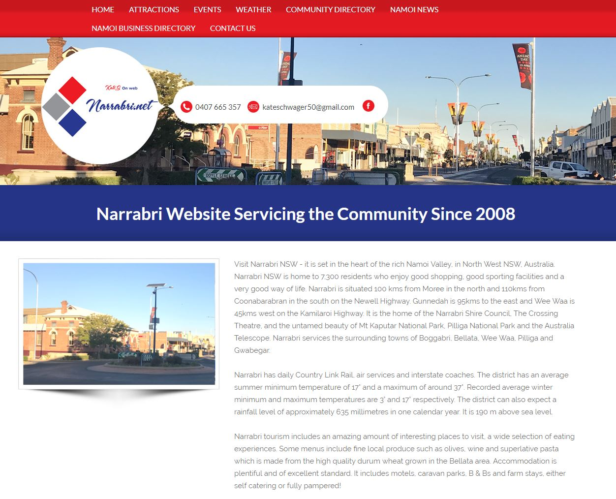 Narrabri Website